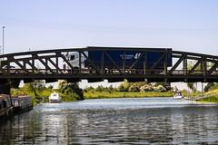 LORRY ON A BRIDGE (Gaz West) Tags: lorry on a bridge