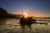 Admiral Von Tromp (Justin Cameron) Tags: neutraldensity blacknab canonef1635mmf4lisusm saltwickbay shipwreck whitby sunlight dawn admiralvontromp canon5dmkiii