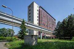 Ostrava - Vitkovice (Maciej Dusiciel) Tags: architecture architectural abandoned modern modernism industry industrial factory urbex urban ostrava czech travel europe world sony alpha samyang