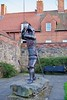 Knight (GATACA1952) Tags: alnwick northumberland england knight sculpture art history publicart