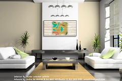 Home interior 3D rendering (degolishimports) Tags: interior furniture situation sofa vase bamboo pillow table plate windowdressing glass blind drawingroom green white wood niche illumination modern reflection 3d comfort rest area room home decor relax lifestyle furnishings comfortable leisure objects shade family jalousie bottle illustration lamp beige russianfederation