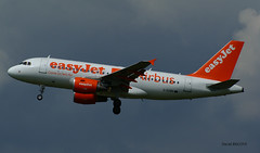 Airbus A319 ~ G-EZBR  Easy Jet (Aero.passion DBC-1) Tags: roissy cdg spotting airport airlines airliner dbc1 david biscove aeropassion avion aircraft aviation plane airbus a319 ~ gezbr easy jet