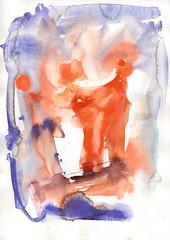 Crowns (janinaroider) Tags: 2014 artist contemporaryart crowns janinaroider malerei painting red series watercolours