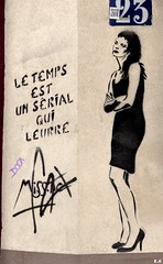 Paris , Street art (pontfire) Tags: paris streetart miss tic france dessin arts