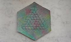 Sierpinski-penrose triangle 0 - Alessandro Beber (Monika Hankova) Tags: origami tessellation alessandrobeber