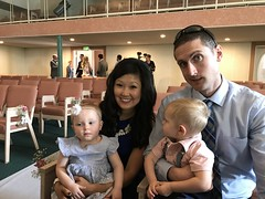 """Emily and Joe with Dani and Kai at Lauren and Bradley's Wedding Ceremony • <a style=""""font-size:0.8em;"""" href=""""http://www.flickr.com/photos/109120354@N07/42387422962/"""" target=""""_blank"""">View on Flickr</a>"""