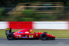 1992 Ferrari F92A (belgian.motorsport) Tags: 1992 ferrari f92a alesi modena motorsport circuit zolder 2018 historic gp grandprix grand prix classic oldtimer v12 uwe meisner