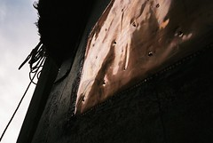 Copper-bottomed (knautia) Tags: underfallyard bristol england uk may 2018 film ishootfilm olympus xa2 fuji superia 400iso olympusxa2 nxa2roll17 boat copper commute commuting
