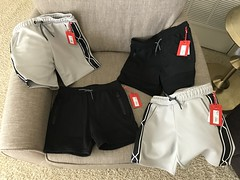 Matching #TargetxHunter shorts for our 4yo and 6yo! Also got these at 30% off! Yay! Comfy, lightweight, but fabric is durable and soft! Great quality! #jlsfinds #mommyjsavings (Travel Galleries) Tags: size small s xs 67 45 spring summer clothes children old years savings sale save shop america usa brand british collaboration designer black grey ootd clothing comfortable comfy lightweight soft cute quality great shorts twinning matching boys kids target hunter jlsfinds targetxhunter mommyjsavings