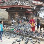 Straßenszene in Kathmandu, Nepal
