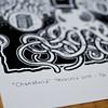 Chamalloiid - New linocut paper printing (Teratoiid) Tags: linocut linogravure teratoiid monstre monster gravure