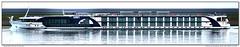 Monarch Empress (Morthole) Tags: slitscan ship boat schip boot barge binnenvaart schiff rheinschiff monarchempress passagiersschip passagiersboot passengersboat passengersship passagierschiff naviresãpassagers