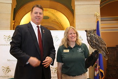 Sen Frentz at MN Zoo Day at the Capitol
