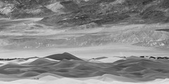 20180314_Death_Valley_031 (petamini_pix) Tags: california deathvalley desert deathvalleynationalpark landscape panorama panoramic mesquitedunes sand sanddune abstract impressionistic mountains dune blackandwhite blackwhite bw monochrome grayscale
