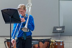 Spit Take (backbeatb00gie) Tags: ian iowa trombone performance desmoines highschool music competition