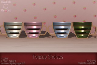 c( TC ) Teacup Shelves poster