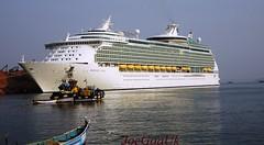 MS Mariner of the Seas in Goa (joegoauk73) Tags: joegoauk goa ship boat cruise caribbean mariner marmagoa murmugao