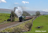 35018 - Great Britain XI Railtour - 20 April 2018 (9 of 13) (Mike Heath Photo) Tags: gbxi great britain xi railtour rail touring company 35018 southern region sr merchant navy class british india line steam train locomotive settle carlisle hortoninribblesdale tour