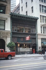 San Francisco  California - Tadich Grill - Historic (Onasill ~ Bill Badzo - 56 Million Views - Thank Yo) Tags: san francisco ca california tadrichgill historic historical nrhp district financialdistrict restaurant old very seafood unitedstates oldest 1849 coffee onasil landmark 240 st vintage photo artdeco style architecture wells fargo neon sign night