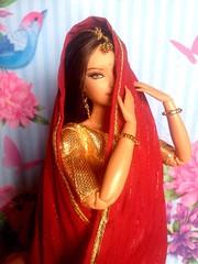 IMG_5070 (Anusha_28) Tags: barbiedoll indianstyle barbie mattel indianfashion dotw barbiediwali