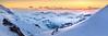 Ces montagnes qui me fascinent au coucher du soleil et dont je rêve la nuit (Kratzi Montagne) Tags: sunset montagne alpes engelberg titlis winter hiver neige soir soleil nuage jaune glace glacial coucher du kratzeisen françois 6d canon 24 105 mm rocher