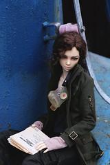 03 (here.heidin) Tags: bjd doll llt lldt lalegendedetemps blue magpie dollstown 17year hybrid abjd bjdgirl