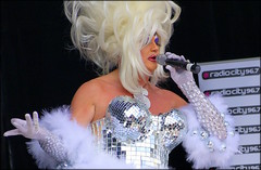 Gay glam (* RICHARD M (Over 7 MILLION VIEWS)) Tags: candid street portraits portraiture candidportraits candidportraiture streetportraiture gay dragqueen dragartist glam glamour wigs blondewig glitter glitterati entertainer entertainment performance performer singer microphone elboowgloves lbgtq gaypride liverpoolgaypride liverpool merseyside europeancapitalofculture capitalofculture unescocityofmusic cityofmusic showbiz stage fun falsies gayscene femaleimpersonator streetportraits
