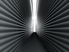 08-52: site survey (matt_in_a_field) Tags: iphone snap 52 cladding building lines symmetry path disappearing linear angles source light shadow vanish vanishing point