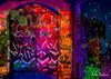 Front Door (brillianthues) Tags: city urban graffiti philadelphia street photography photmanuplation photoshop
