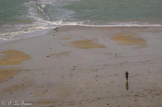 Marée basse à Saint Malo