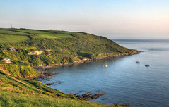 The Rame Peninsula, Cornwall (Baz Richardson (now away until 26 Oct)) Tags: cornwall ramepeninsula polhawnfort whitsandbay cliffs yachts