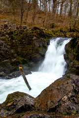 Skelwith Force (StevePilbrow) Tags: skelwith force national trust waterfall river brathay lake district park cumbria lakes north west england country side water walking elter elterwater trees hill pike nikon d7200 nikkor 18105mm march april 2018