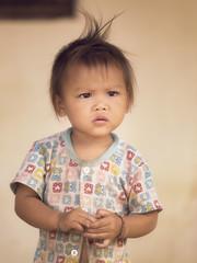 Little girl .... (liofoto) Tags: laos mékong pakou asie asia girl littlegirl children portrait regard yeux eyes cheveux hair travel voyage