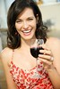 Stock Images (perfectionistreviews) Tags: 1 30s adult alcohol alcoholicbeverage attractive beautiful beauty cafe caucasian cheerful diningout dress drinking eatingout female glass gorgeous grinning happiness happy headandshoulders leisure leisureactivity lifestyle married one onewoman person pretty restaurant smile smiling thirties wine woman color photograph vertical brunette wineglass hispanic latino dining oneperson outdoors lookingatviewer marriage foodanddrink portrait