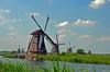 KINDERDIJK MILLS (JaapCom) Tags: jaapcom kinderdijk landscape mill mills milos molino moulin molenaar molens clouds water zuidholland dutchnetherlands holland polder paysbas nikond5100