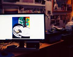 monitor / art (bluebird87) Tags: art monitor film kodak ektar nikon f5 dx0 c41 epson v800 lightroom