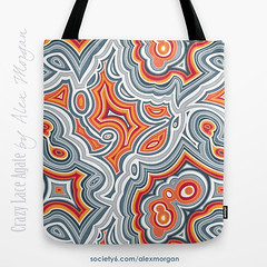 Agate Patterns on Society6 (Spellstone) Tags: stone rock geology earth gemstone quartz quartzite agate carnelian laceagate crystal crazylaceagate red blue white spellstone spoonflower roostery art craft design surface pattern society6 alexmorgan pillow cushion phonecase textile fabric wallpaper totebag tote clock wallclock mug rug pouch laptopskin clothing apparel sewing curtains