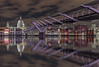Millennium Reflection (AnthonyPaul_) Tags: london thames millennium bridge reflection st pauls cathedral river