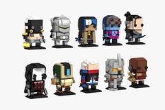 Overwatch BrickHeadz (Lego Skeleton) Tags: lego overwatch brickheadz brickhead roadhog reaper genji ana widowmaker hanzo bastion soldier76 reinhardt doomfist