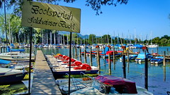 I love summertime (gerard eder) Tags: world travel reise viajes europa europe deutschland germany alemania bavaria baviera bayern chiemsee landscape landschaft lake lago natur nature naturaleza paisajes panorama beach boats boote barcas strand playa outdoor