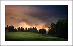 Morgen nach dem Gewitter (Morning after thunderstorm) (alfred.hausberger) Tags: bergbauernwirt allgäu bolsterlang bayern deutschland de morgennebel