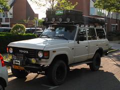 1984 Toyota Land Cruiser Custom Wagon 4.0 D (rvandermaar) Tags: 1984 toyota land cruiser custom wagon 40 d toyotalandcruiser landcruiser sidecode7 j80 80 landcruiserj80 j8 02jvl6