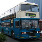 ARRIVA NORTH EAST 7228 A580NWX IS SEEN AT THE ARNISON CENTRE, PITY ME ON 23 SEPTEMBER 2006