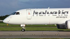 HB-JVO (AnDyMHoLdEn) Tags: helvetic embraer egcc airport manchester manchesterairport 23l