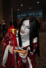 Asian Demoness (greyloch) Tags: wizardworldphiladelphia costume cosplay silverefex niksoftware 2016 canonrebelt6s creepy spooky demon