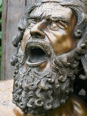 Ulysses, Robin Bell, Bronze, 2014 (jacquemart) Tags: thegardenofheroesandvillains warwickshire felixdennis sculpture bronze homer ulysses robinbell 2014