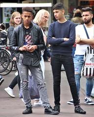 IMG_2718 (Skinny Guy Lover) Tags: outdoor guys men males dudes skinnyjeans blackskinnyjeans pair armsfolded portrait