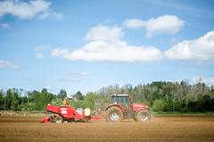 Siembra (JonaContreras) Tags: tractor siembra agronomía chile paisaje