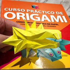 95/365: Cabeza de Quetzalcóatl (mehjg) Tags: origami morigami 365origamichallenge