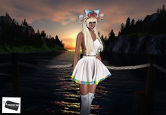 As The Sun Sets I Think Of Past Times With You (SherriOhCherri) Tags: monso neojapan altair ersch tentacio japan sweetthing secondlife secondlifeasia secondlifeblog catwa maitreya secondlifefashion